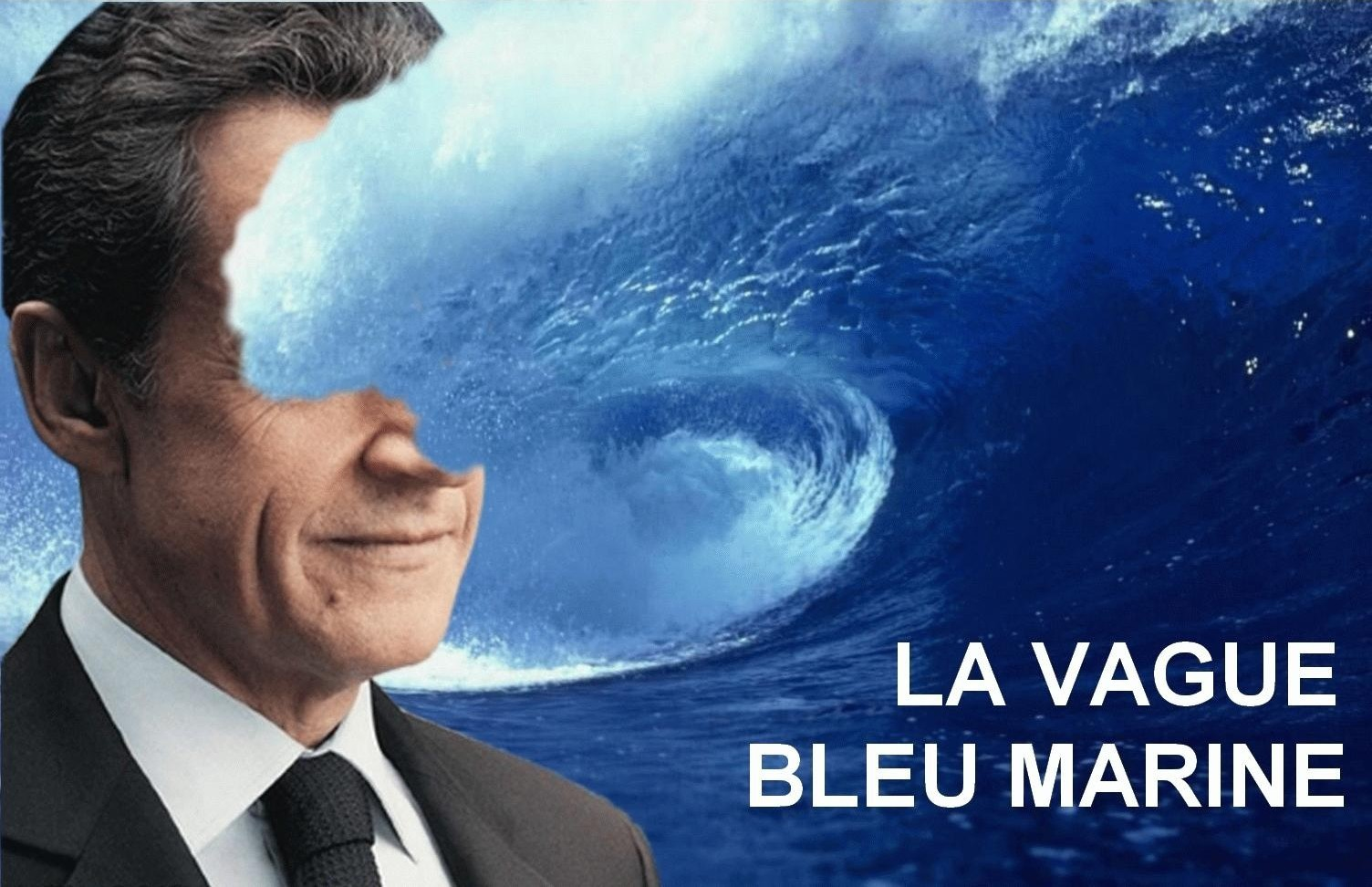 Vague Bleu Marine