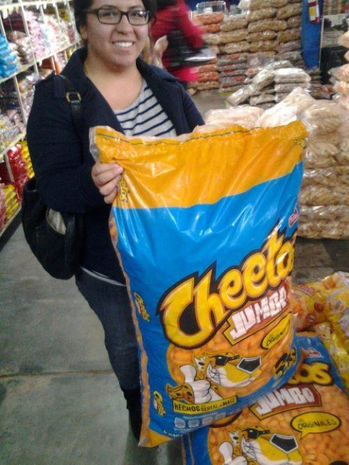 Sac de Cheetos king size