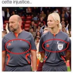 Quelle injustice...
